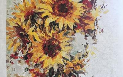 Sunflower collage_Teresa
